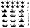 crown - stock vector