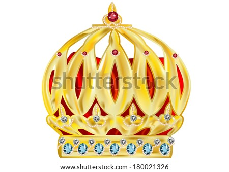 crown - stock vector