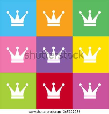 Crown icon for web and mobile