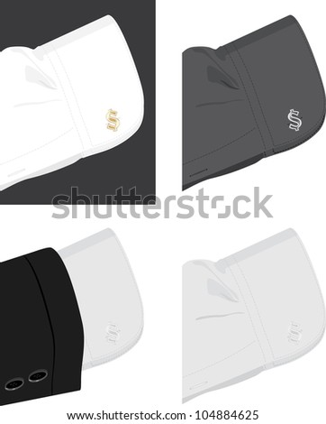 stock-vector-cuff-shirt-with-trendy-cuff