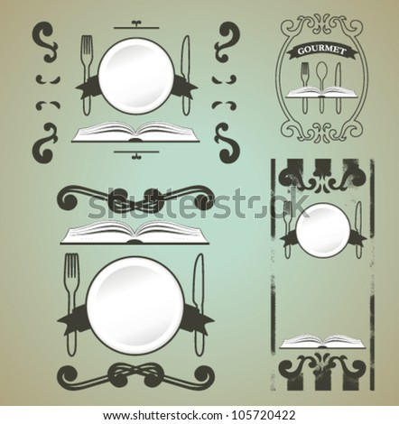 cultural shields - stock vector