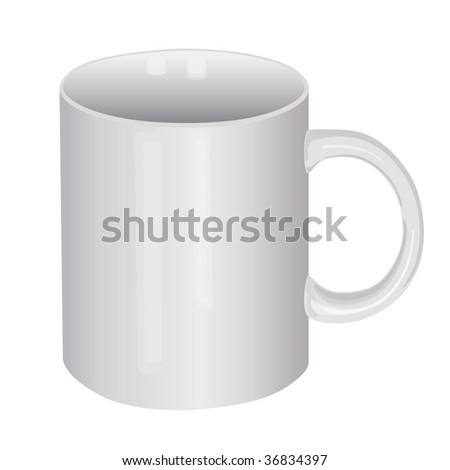 cup - stock vector
