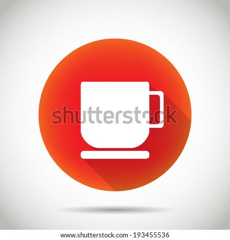 Cup icon. - stock vector