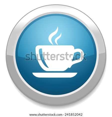 cup of Coffee icon - stock vector