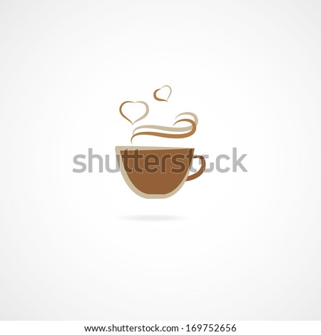 Cup Of Coffee, Vector - stock vector