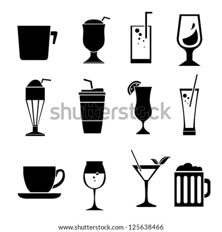 cup set, drinks