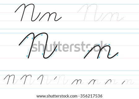 learning to write in cursive