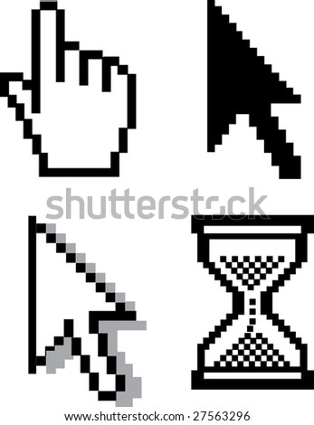 cursors v.4 - vector set