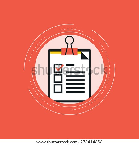 Customer feedback concept - stock vector
