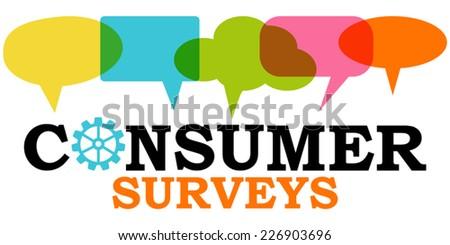 Customer Surveys - stock vector