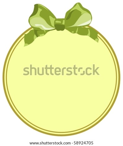 cute ancient frame - stock vector