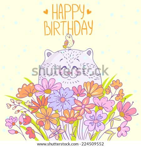 Милые поздравления на день рождение для девушек 347