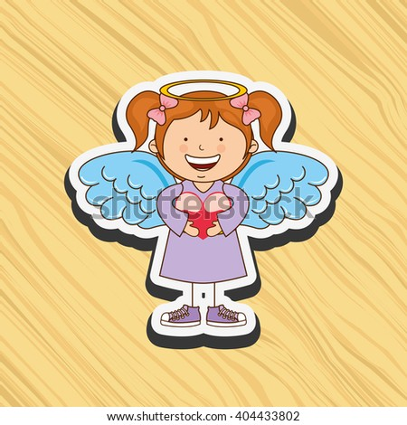 cute angel design