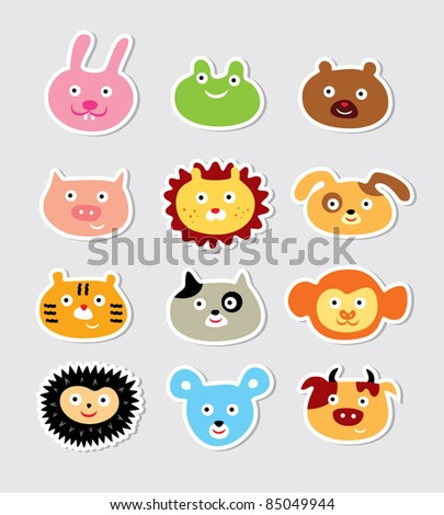 cute animal icons