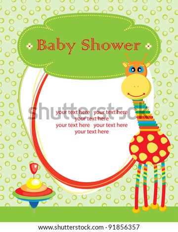 cute baby shower design