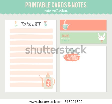 cute contact list template