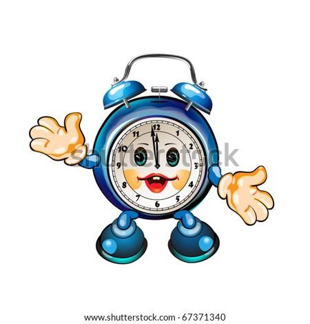 Cartoon Clock Stock Images Royalty Free Images Vectors