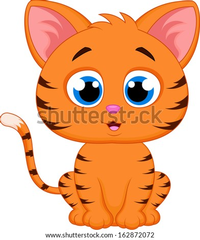 Cute Cat Cartoon Stock Images, Royalty-Free Images ...