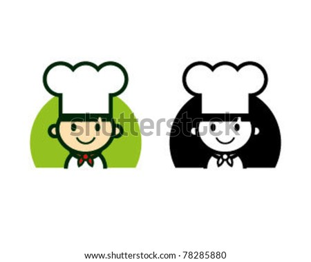 Cute Chef Character Set - stock vector
