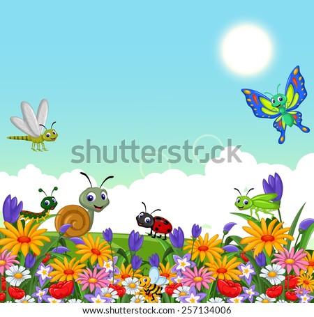 garden icons royalty free stock vector art illustration
