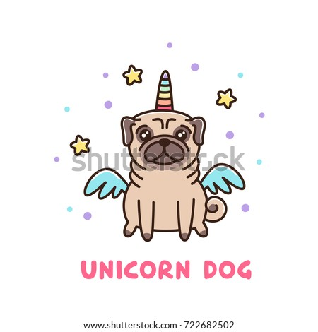 Best Pug Bow Adorable Dog - stock-vector-cute-dog-of-pug-breed-in-a-unicorn-costume-it-can-be-used-for-sticker-patch-phone-case-poster-722682502  You Should Have_12320  .jpg
