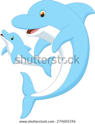 Dolphin Cartoon Stock Images, Royalty-Free Images ...
