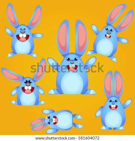 Cute Easter Bunny set.