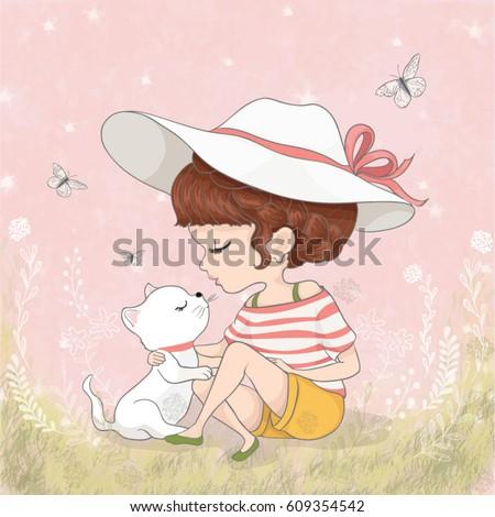 Girl Stock Vectors, Images & Vector Art | Shutterstock