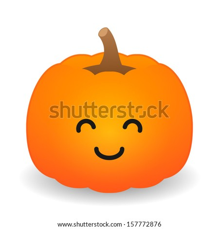 Cartoon pumpkin stock images royalty free images vectors cute halloween pumpkin thecheapjerseys Choice Image