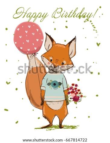 Поздравление с днем рождения для лиса 86