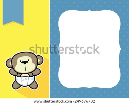 Cute Baby Monkeys in Diapers Cute Little Baby Monkey With