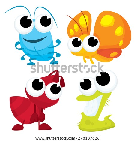 Cartoon Bugs Stock Images, Royalty-Free Images & Vectors ...