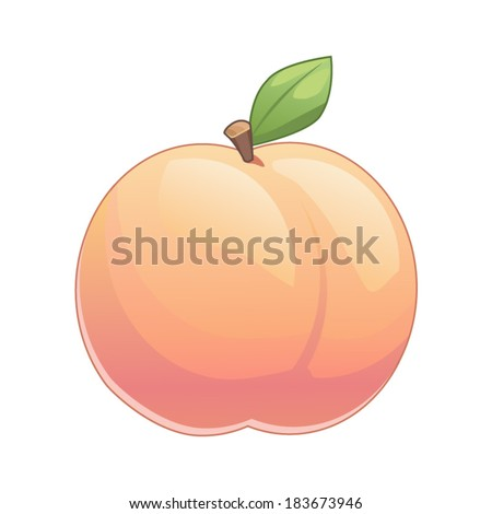 Cartoon Peach Stock Images Royalty Free Images Amp Vectors