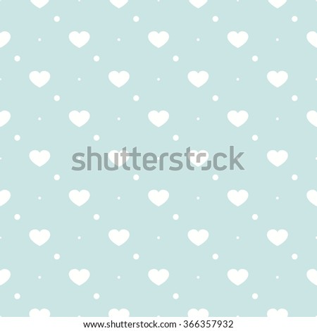 Cute retro abstract heart seamless pattern.Perfect for decoration postcards, brochures, textiles or paper packaging.deal for Save The Date, baby shower, valentines day, birthday cards, invitations - stock vector