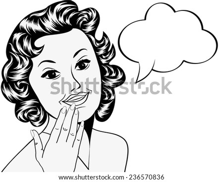 Stock Photo Pop Art Illustration Of A Girl Holding A Book