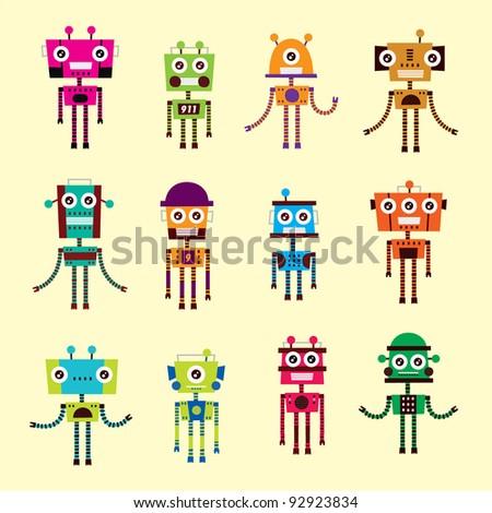 Cute Robot Logo Cute Robot