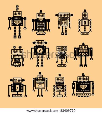 Cute Robot Logo Cute Robot Collection