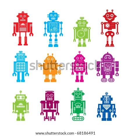 Cute Robot Logo Cute Robots