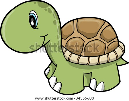 Turtle cute Stock Photos, Images, & Pictures | Shutterstock Baby Shower Sea Turtle Cartoon