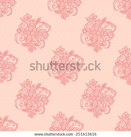 Cute Seamless Pattern with Hand Drawn Vignettes. Vector Illustration. - stock vector