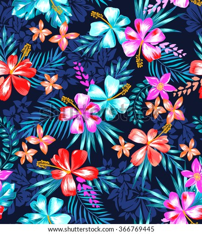 Tropical Pattern Background Tumblr