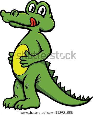Cute Vector Crocodile Stock Vector 112921558 - Shutterstock - photo#40