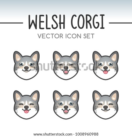 Top Pomeranian Anime Adorable Dog - stock-vector-cute-welsh-corgi-cardigan-dog-breed-vector-icon-sticker-set-inspired-by-kawaii-japanese-anime-style-1008960988  Collection_746532  .jpg