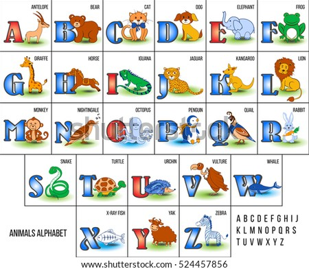 Alphabet Animals A To Z Pictures To Pin On Pinterest