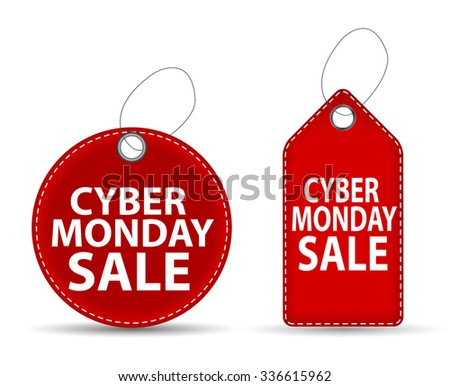 Cyber Monday SALE Label Vector Illustration EPS10
