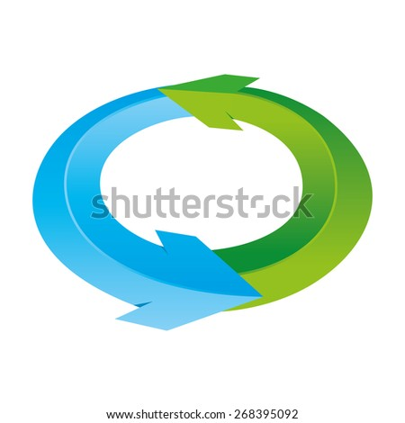 Cycle - stock vector