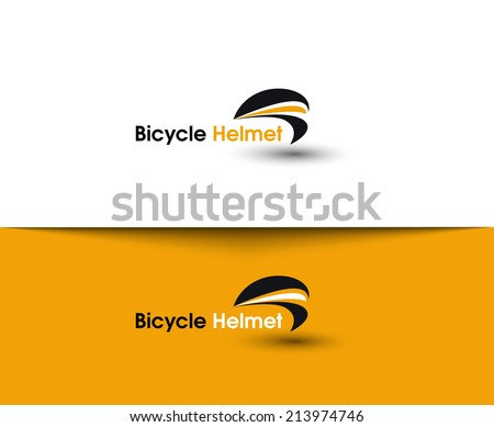 Cycling and Biking Web Icons and Vector Logo  - stock vector