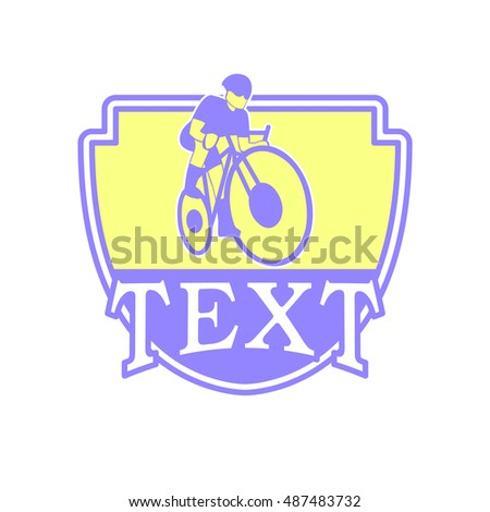 cycling vector logo