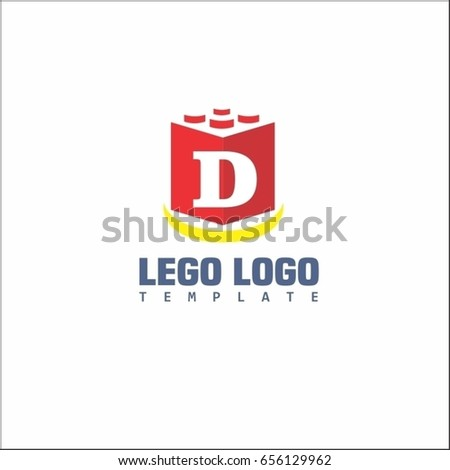 Lego logo template lego logo coloring pages 2434020 project mommie d letter block game logo brand stock vector 656129962 shutterstock maxwellsz