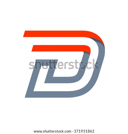 D monogram stock photos royalty free images vectors for D for design